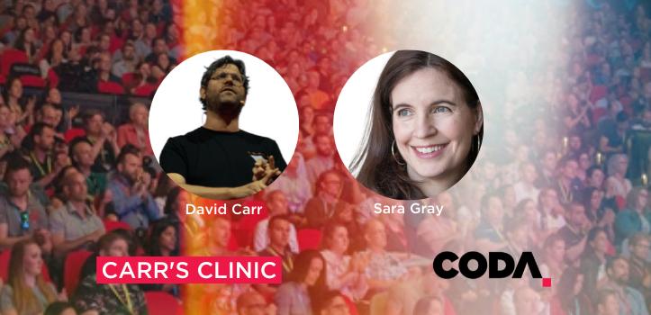 Carr Coda Clinia with Sara Gray